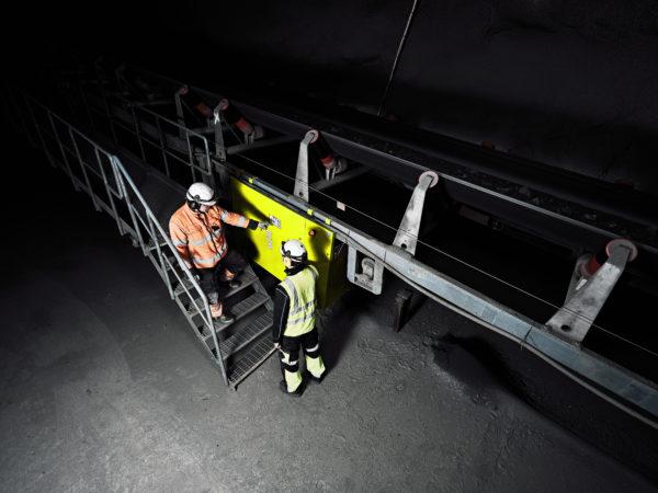 ROXON HX270 Conveyor Belt Monitoring System